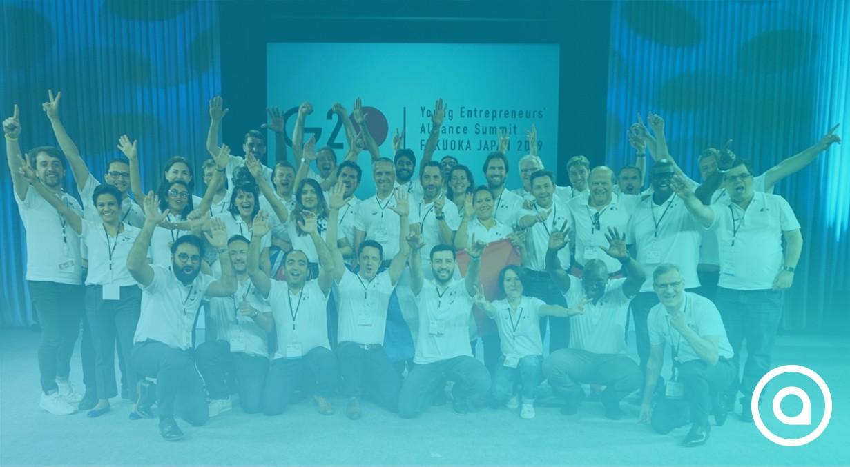 G20 Young Entrepreneurs Alliance Summit Fukuofa Japan 2019