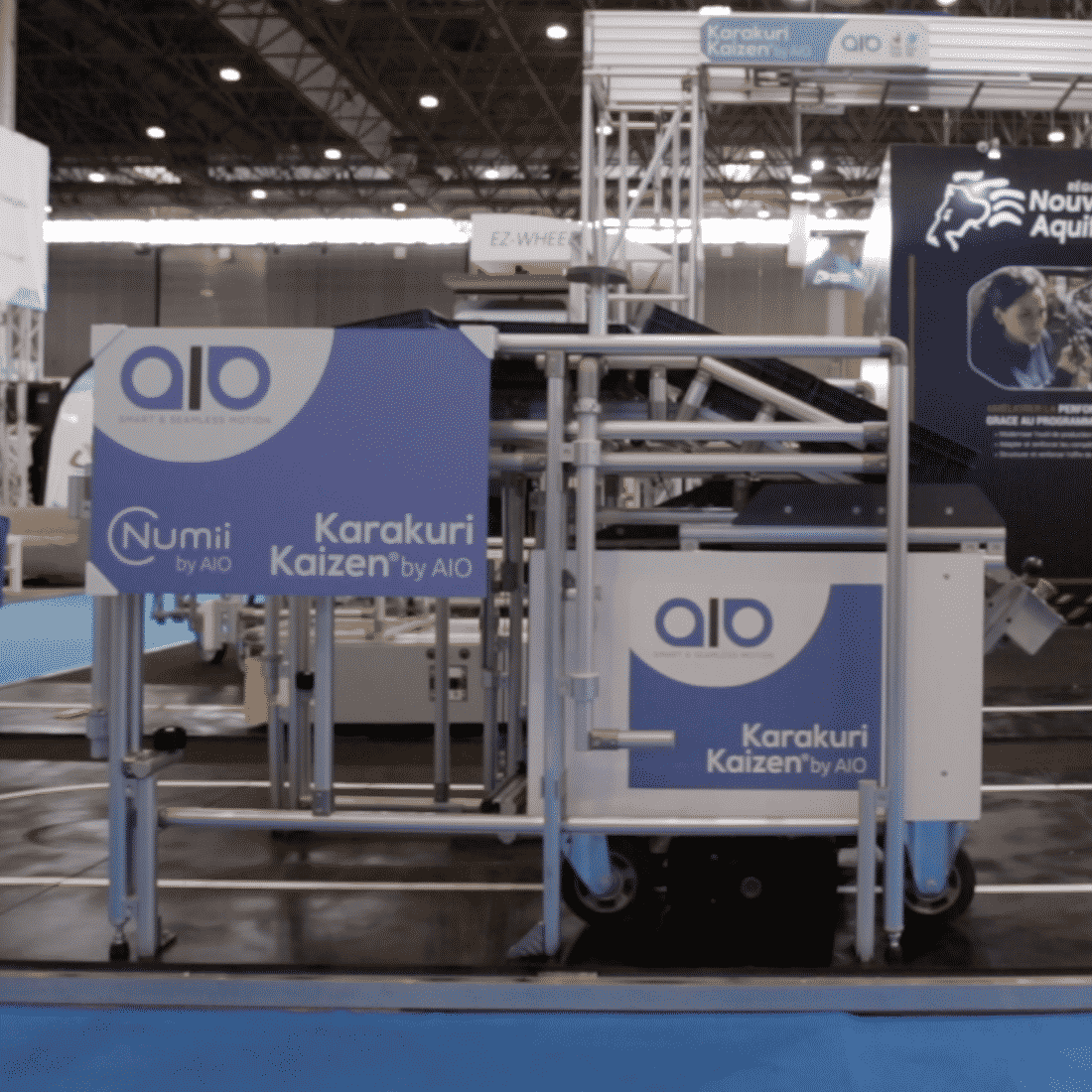 AGV Automatic guided vehicle karakuri Kaizen lean manufacturing