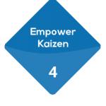 Fourth benefit of the Karakuri Kaizen : empower kaizen.