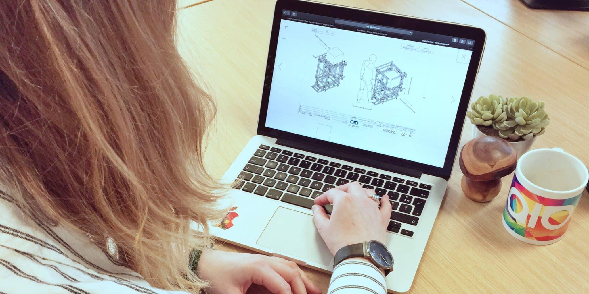 Graphics designer graphiste aio karakuri lean management manufacturing