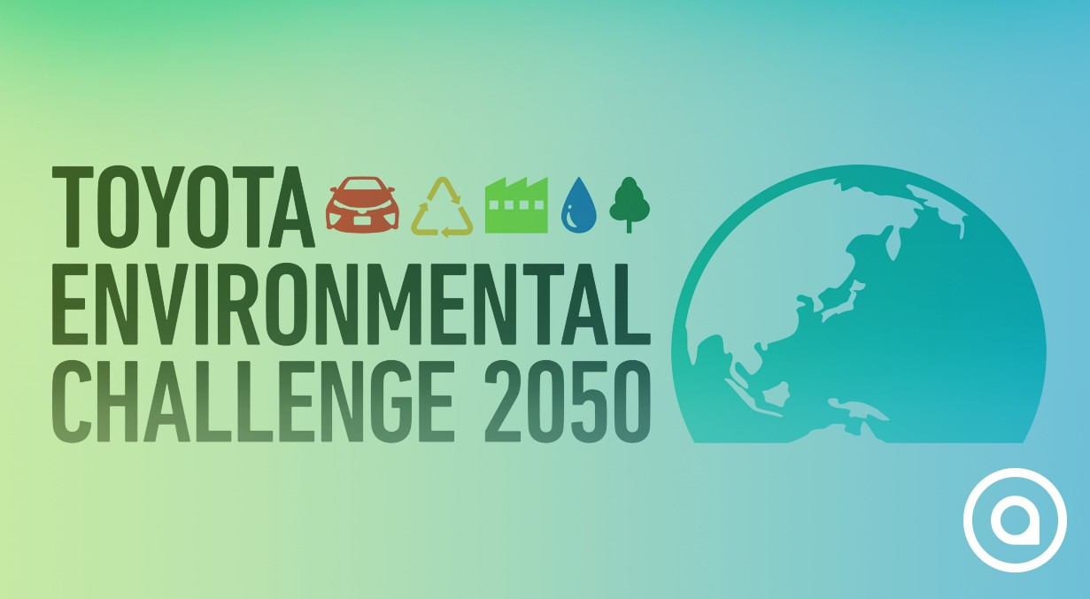 Better future with Toyota environmental Challenge 2050