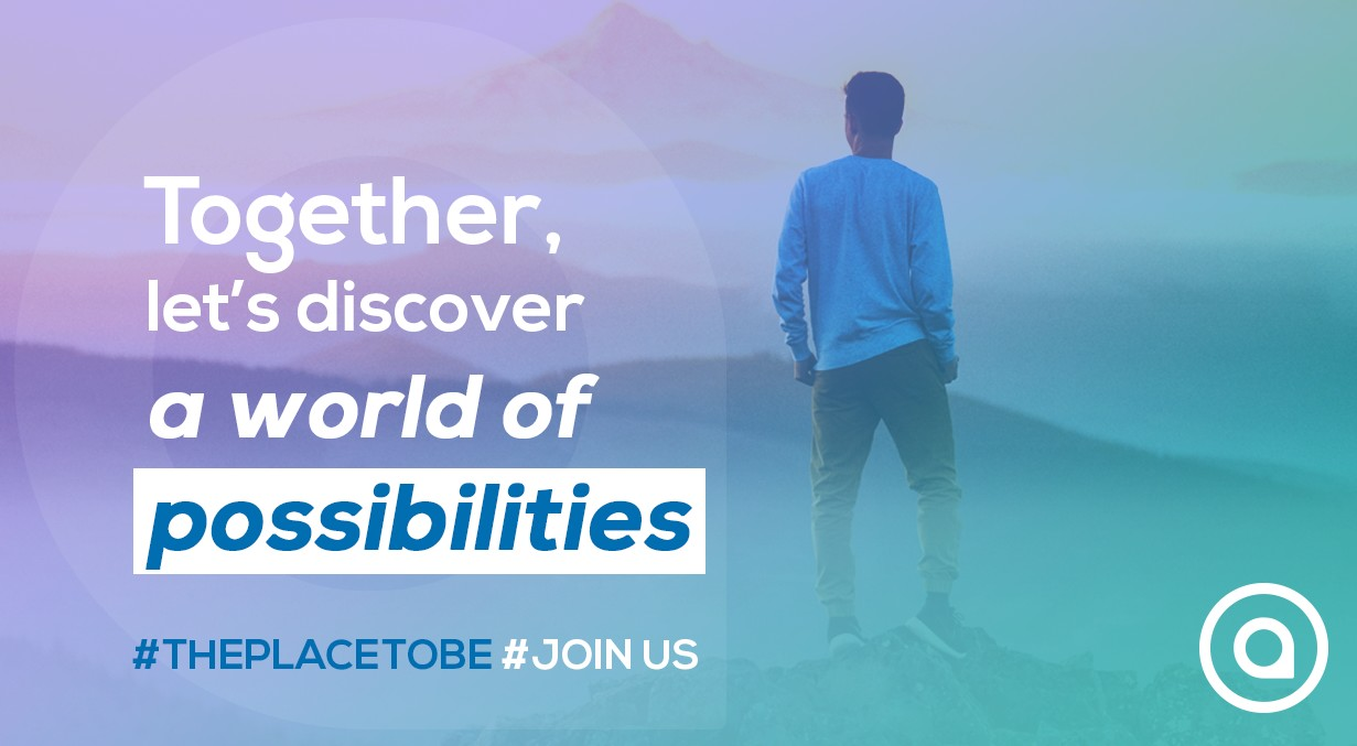 Together, let's discover a world of possibilites