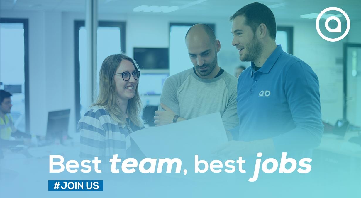 Best team, best jobs