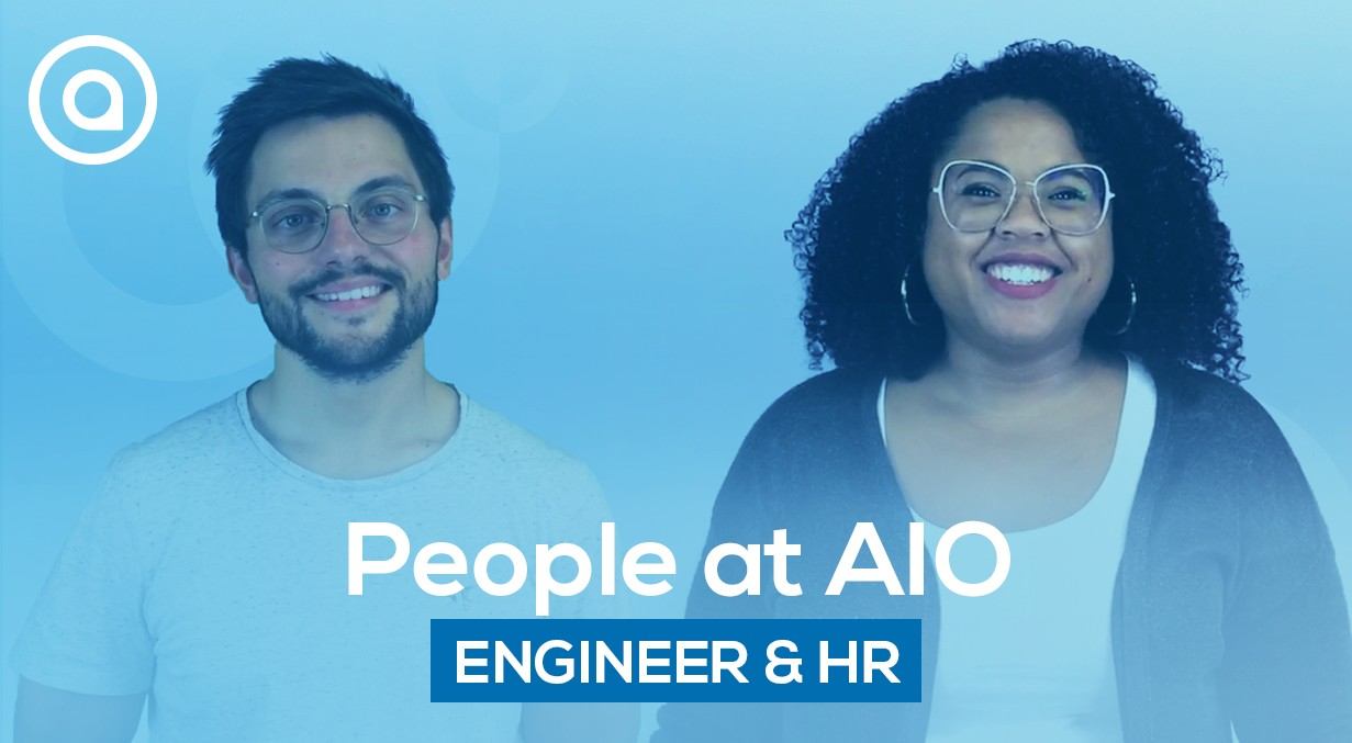 Mechanical engineer and human resources team at AIO people testimony