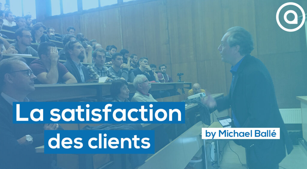 Conference about Lean management and customer satisfaction in Arts et Metiers Bordeaux by Michael Balle