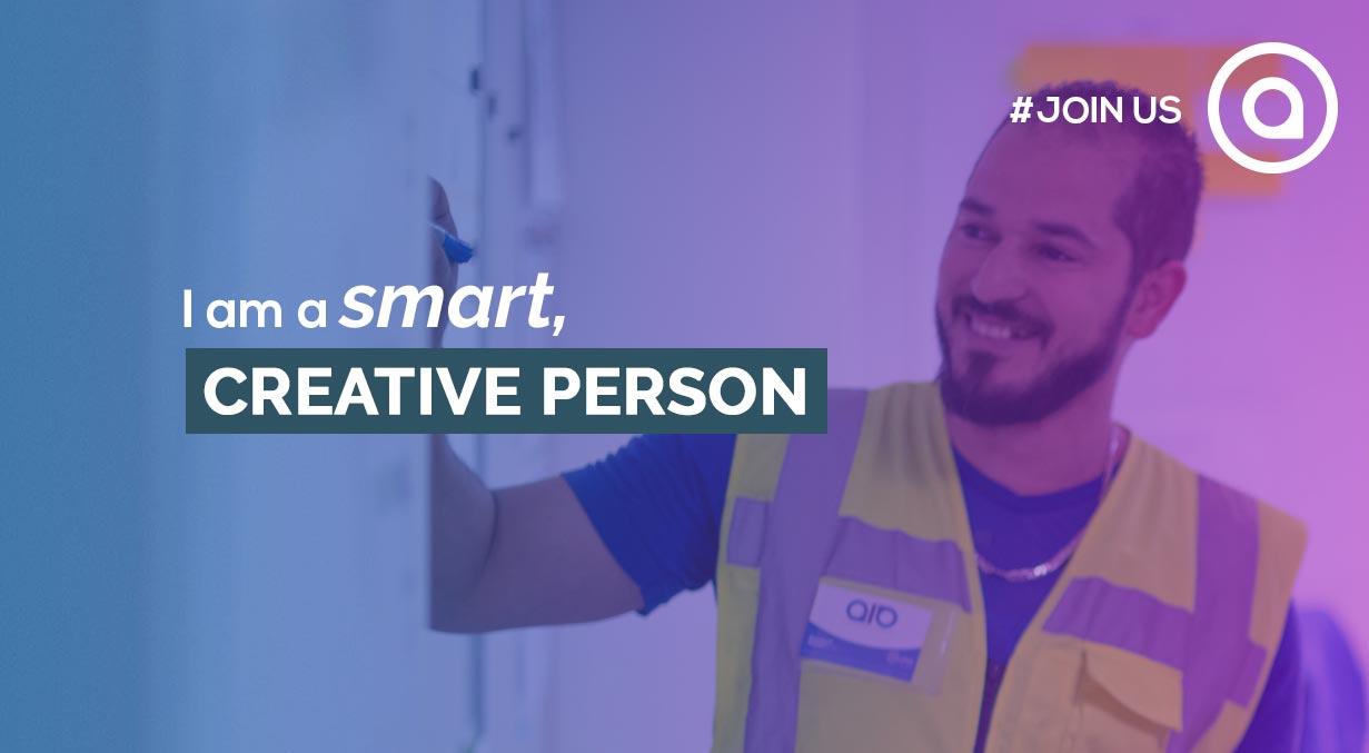 I am a smart, creative person recrutement aio karakuri kaizen cv job social recruiting