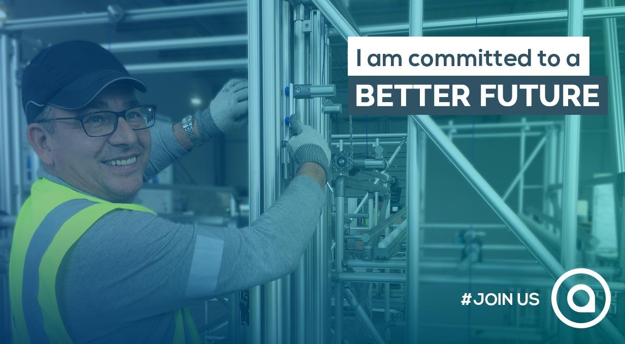 I am committed to a better future recrutement aio karakuri kaizen cv job social recruiting