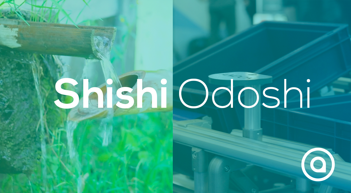 Shishi Odoshi solution for karakuri kaizen lean solution for manufacturing
