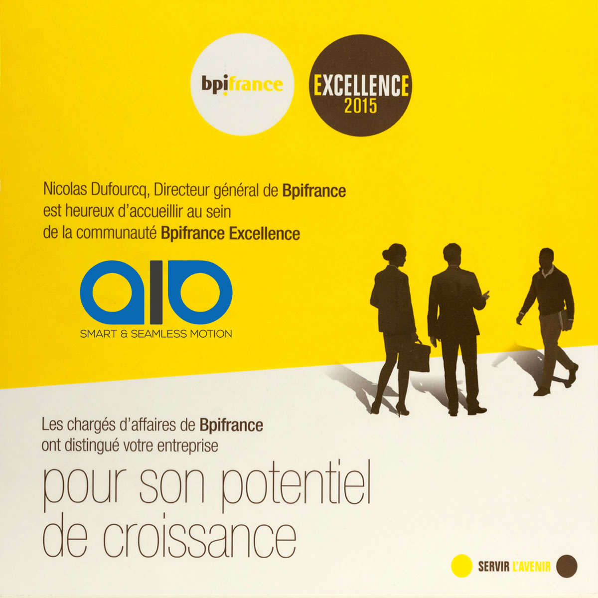 BPI France distinction AIO